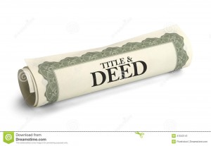 title-deed-paper-document-rolled-isolated-white-background-41043141